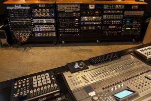 New Record Studios Control Room